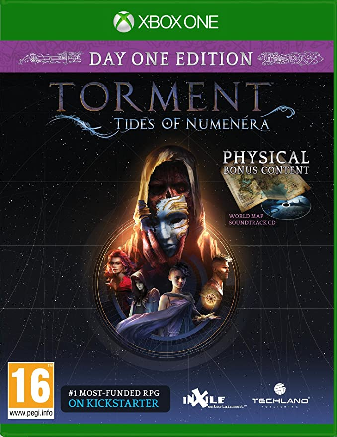 Torment: Tides of Numenera - Day One Edition: Amazon.es: Videojuegos