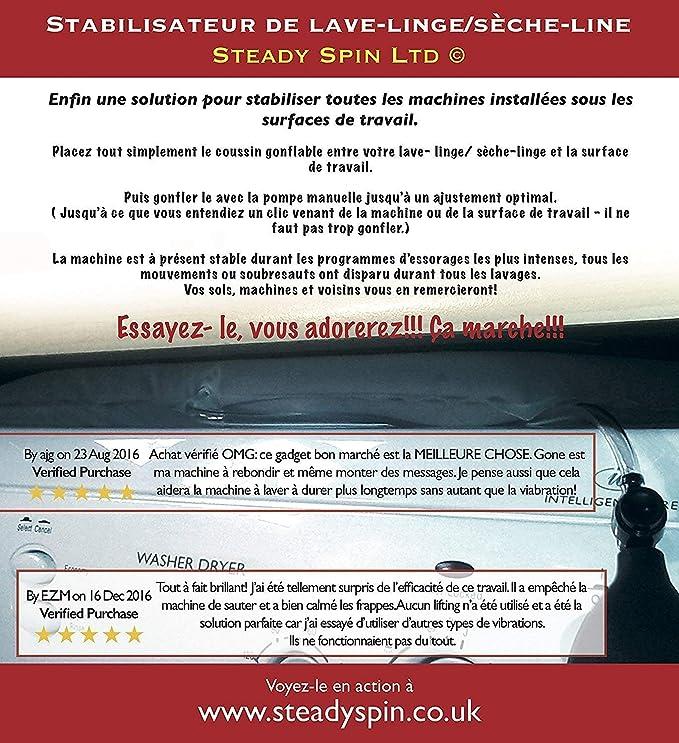 Cojín Estabilizador Anti Vibración de la lavadora – Steady Spin ...