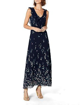 Rabatt-Verkauf 60% Freigabe attraktiver Stil ESPRIT Collection Damen Partykleid 028EO1E033 Blau (Navy 400 ...