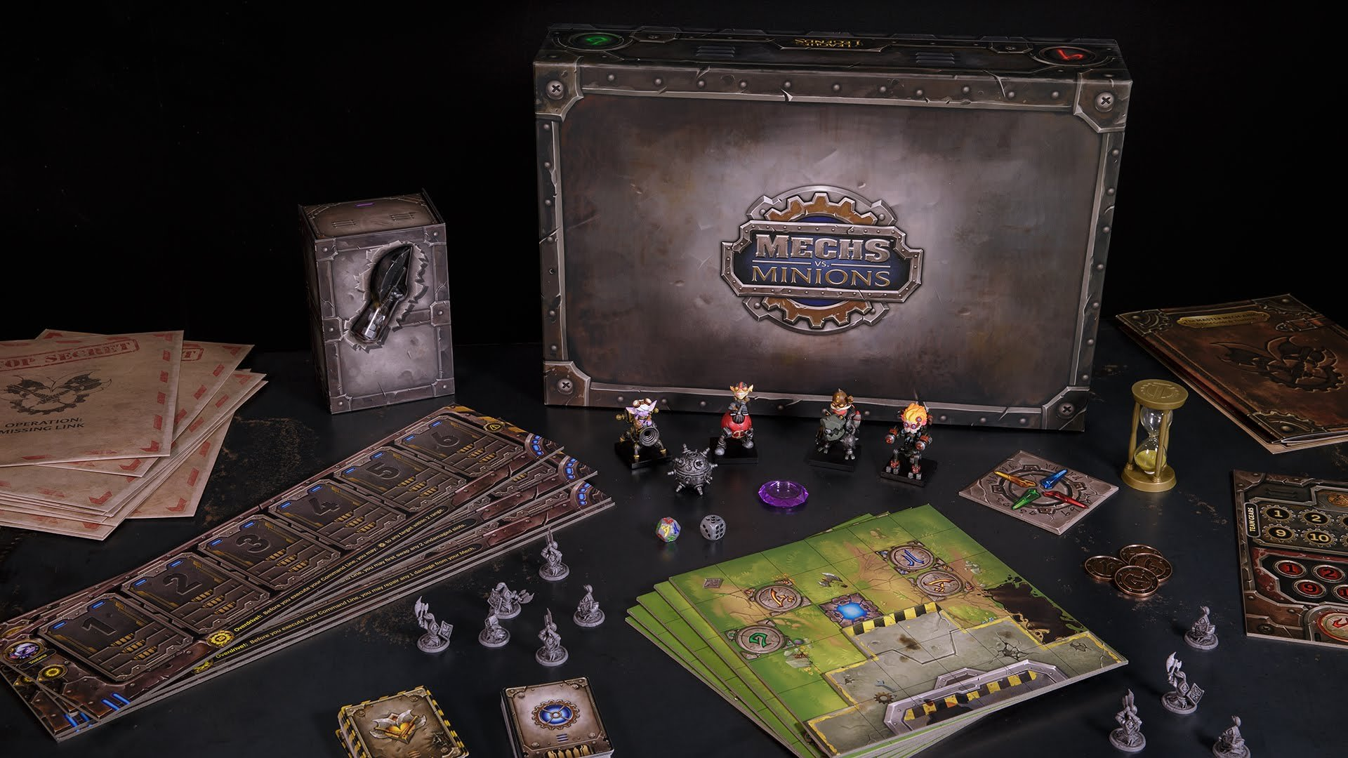 Mechs vs. Minions: League of Legends Board Game