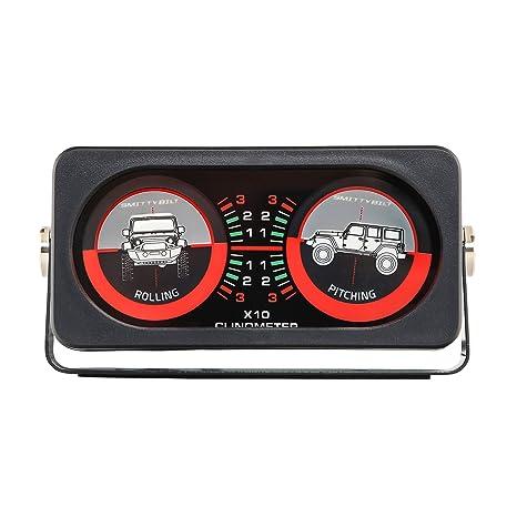 amazon com smittybilt 791006 clinometer with compass automotive