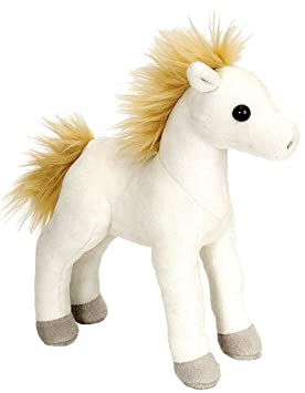 Wild Republic - Mini Caballo de Peluche Cuddlekins, 20 cm, Color Blanco (16667