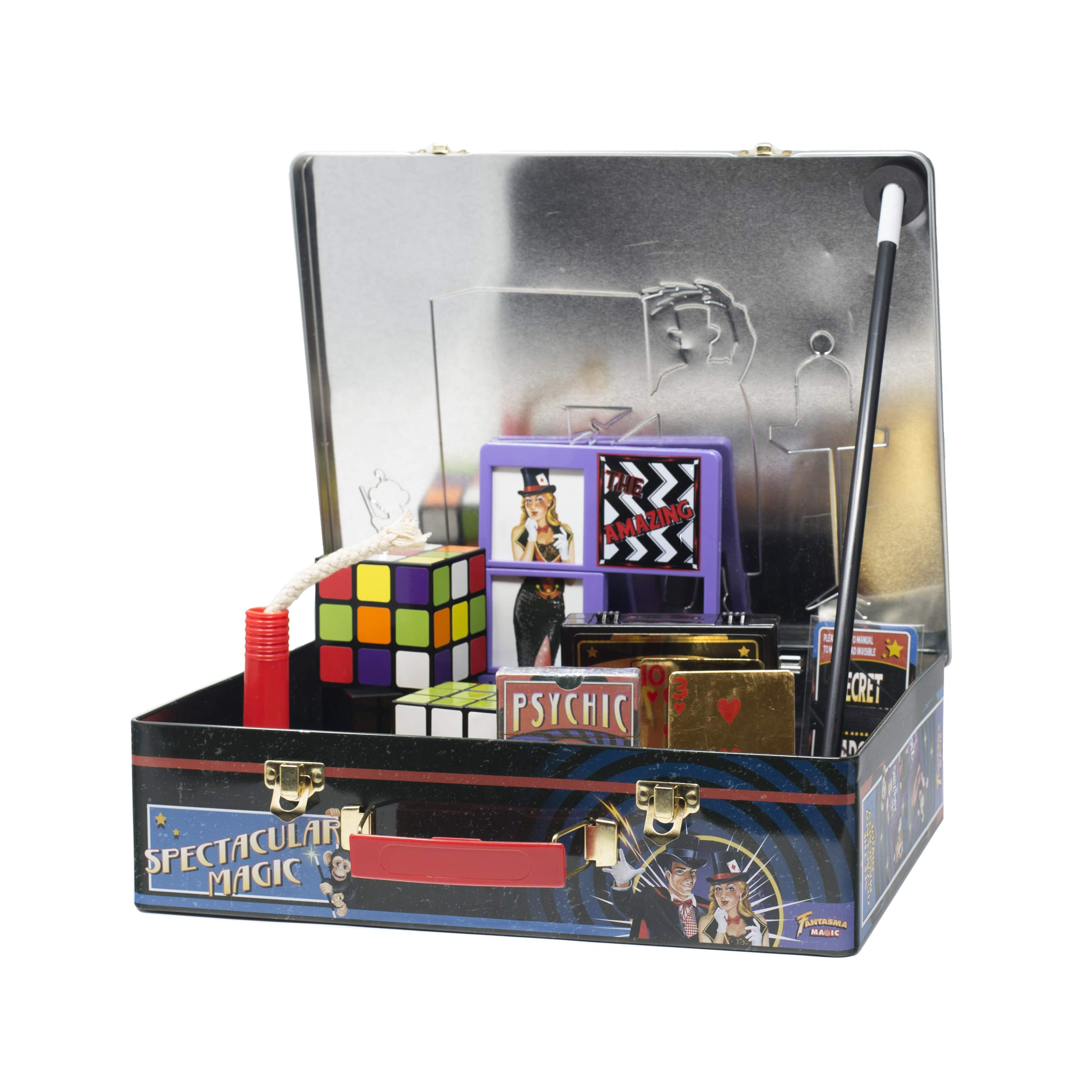 Fantasma Spectacular Magic Box Set for Kids - Magic Kit and Card Trick - Learn 135 Magic Tricks - Great for Boys and Girls 7 Years and Older        by Fantasma (Image #2)