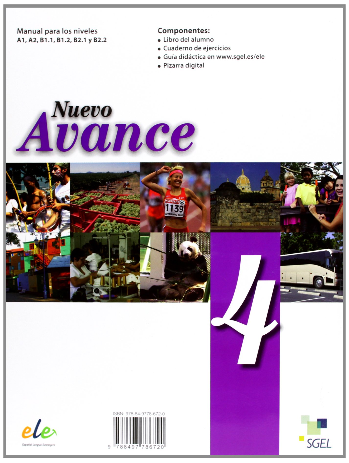 Nuevo Avance 4 Exercises Book + CD B1.2 (Spanish Edition ...