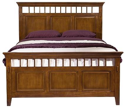 Cool Amazon Com Cambridge 98129Bqu Oak Sadona Bed Queen Oak Download Free Architecture Designs Scobabritishbridgeorg