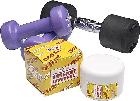 Reductora Anticelulítica Crema - Gym Sport Reductor - 200 ml . Aplícala antes y después de hacer Ejercicio en CASA.