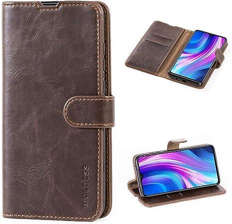 Mulbess Funda para Xiaomi Redmi Note 8 Funda Cartera Xiaomi Redmi Note 8 Azul Marino Funda Cuero con Tapa Funda Libro para Xiaomi Redmi Note 8 Case