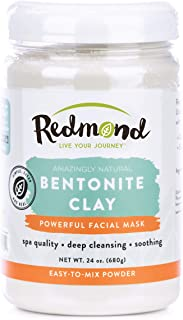 product image for Redmond Clay - Bentonite Facial Mask, Soothing Mud Mask | Clay of 1000 Uses, 24 Ounce