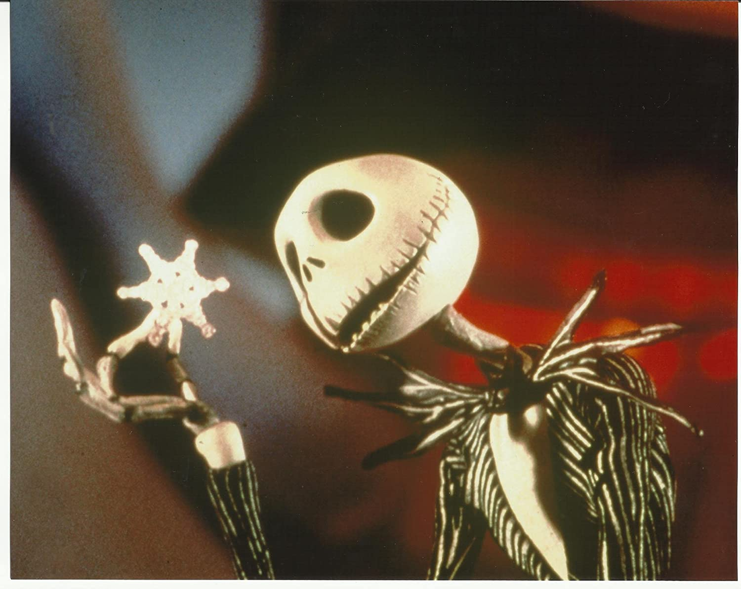 Nightmare Before Christmas 8x10 Photo Jack holding snowflake #2 at ...