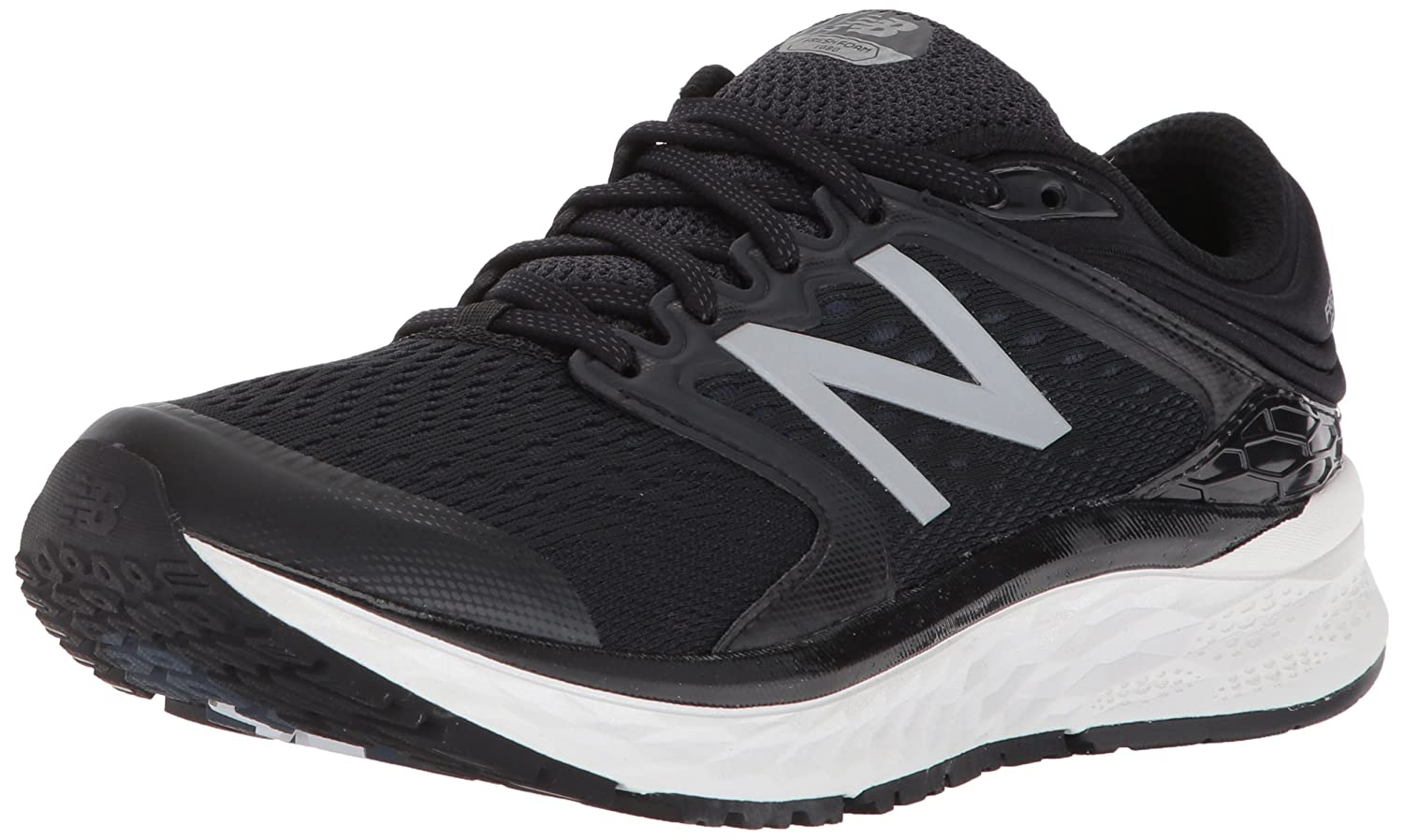 New Balance Women's 1080v8 Fresh Foam Running Shoe B01N2XM9RB 13 2A US|Black/White