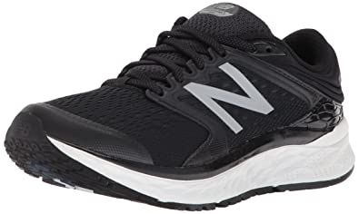 New Balance Women\u0027s 1080v8 Fresh Foam Running Shoe, Black/White, ...