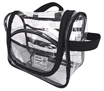 Rough Enough Multifunction Transparent Hanging Toiletry Bag Cosmetic Makeup  Case Clear Luggage Travel Storage Organizer Bathroom fd736e3b57