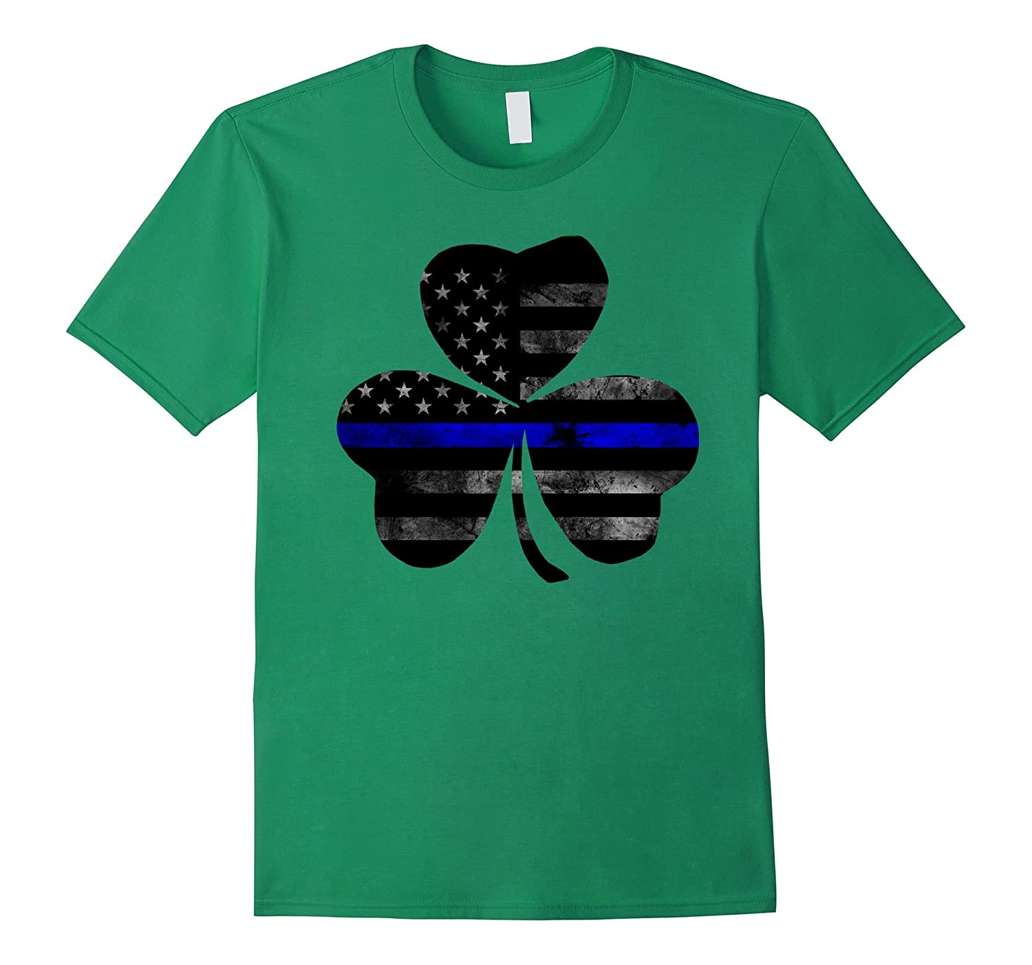 Police St Patricks day T - Shirt-TD