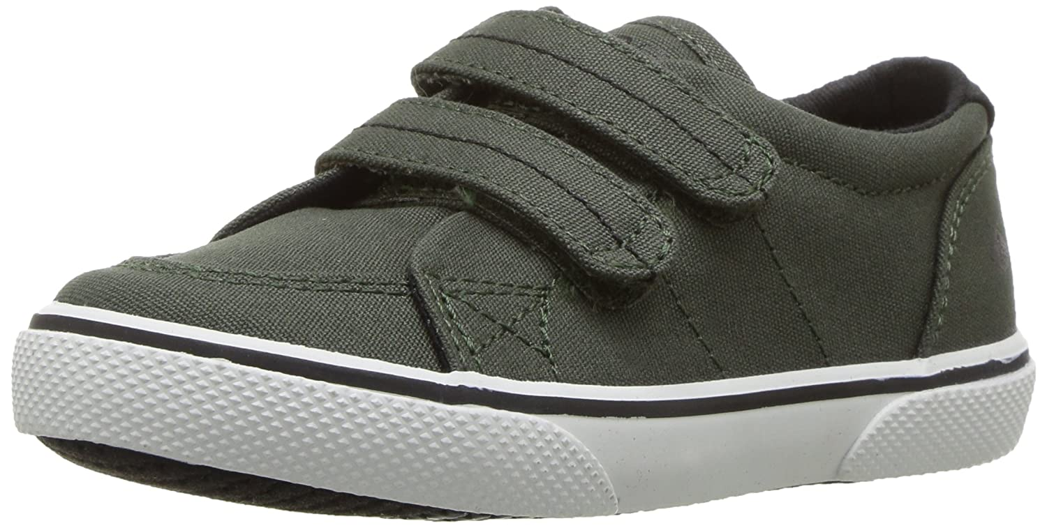 Sperry Halyard Hook & Loop Boat Shoe (Toddler/Little Kid) Halyard H&L - K