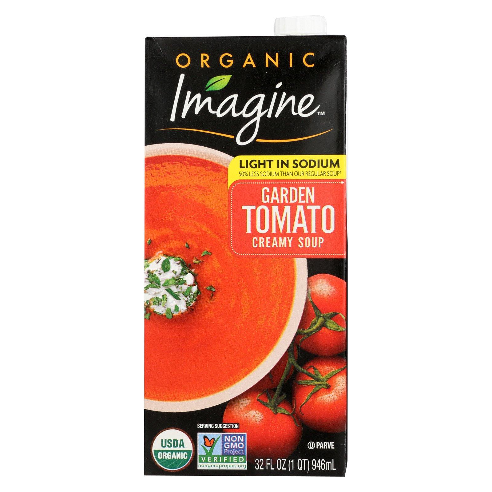 Imagine Foods Garden Tomato Soup - Low Sodium - Case of 12 - 32 Fl oz. by Imagine Foods