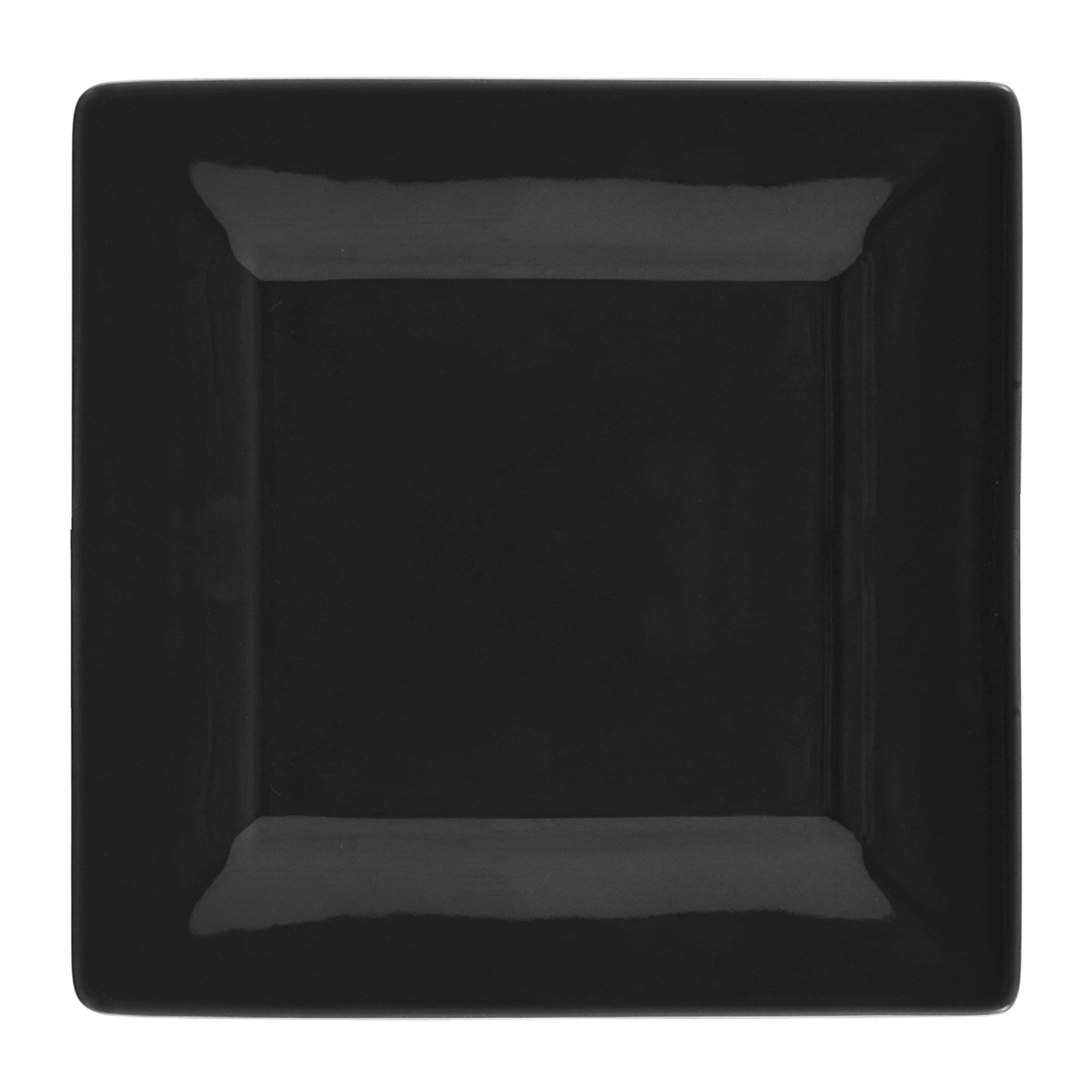 10 Strawberry Street Square 16 Piece Dinnerware Set, Black by 10 Strawberry Street (Image #2)