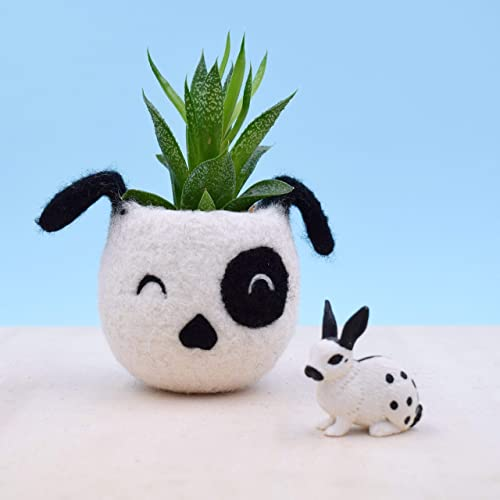 Dog lover gift Mother day gift, gift for her, succulent planter pot, Small succulent pot, Cactus planter gifts, dog head planter, dog vase