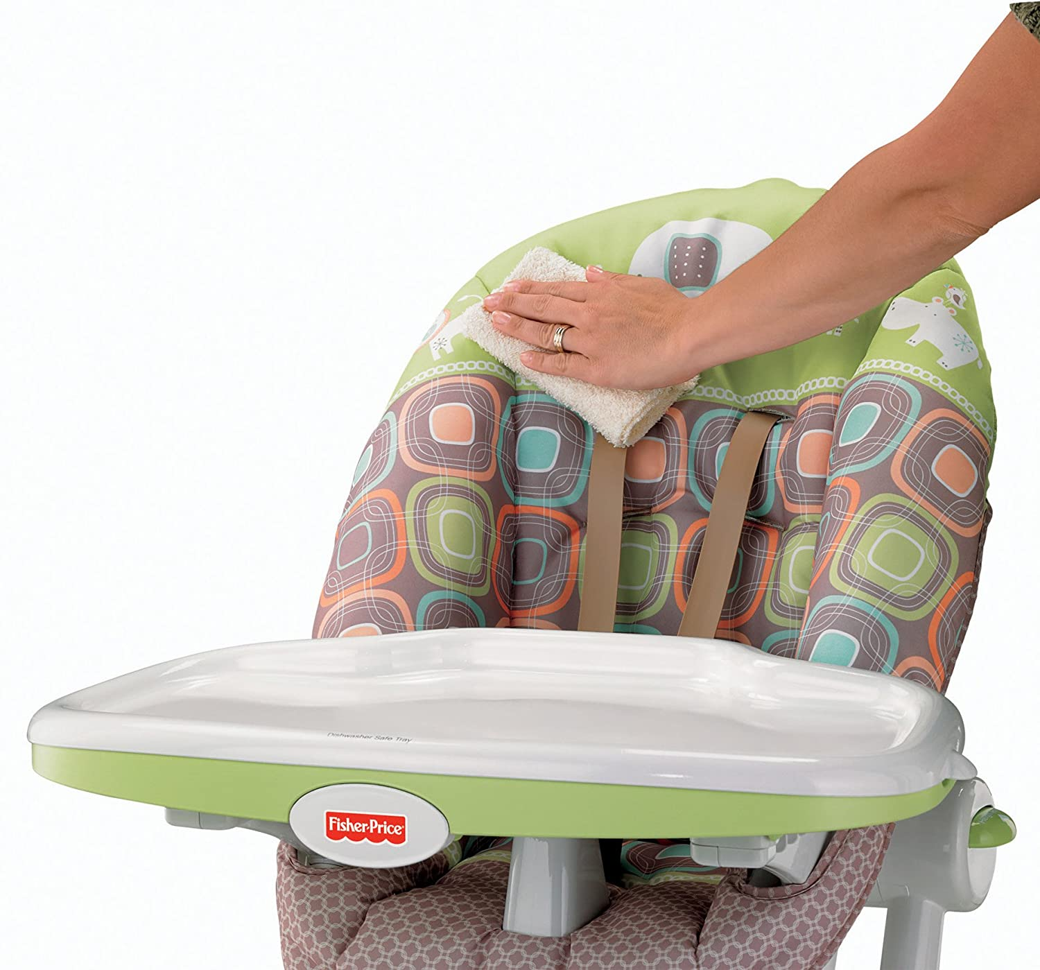 Chair fisher price high chair ez clean - Amazon Com Fisher Price Ez Clean High Chair Coco Sorbet Childrens Highchairs Baby