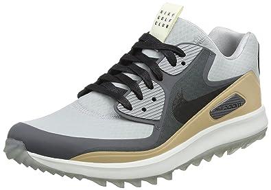 newest collection 65f28 4c08f Nike Herren Air Zoom 90 IT NGC Golfschuhe Grau (Wolf Black/Dark Grey/
