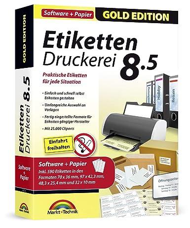 Etiketten Druckerei 8 5 590 Etiketten Gratis Für Windows 10 8 1 7 Vista Praktische Etiketten Für Jede Situation
