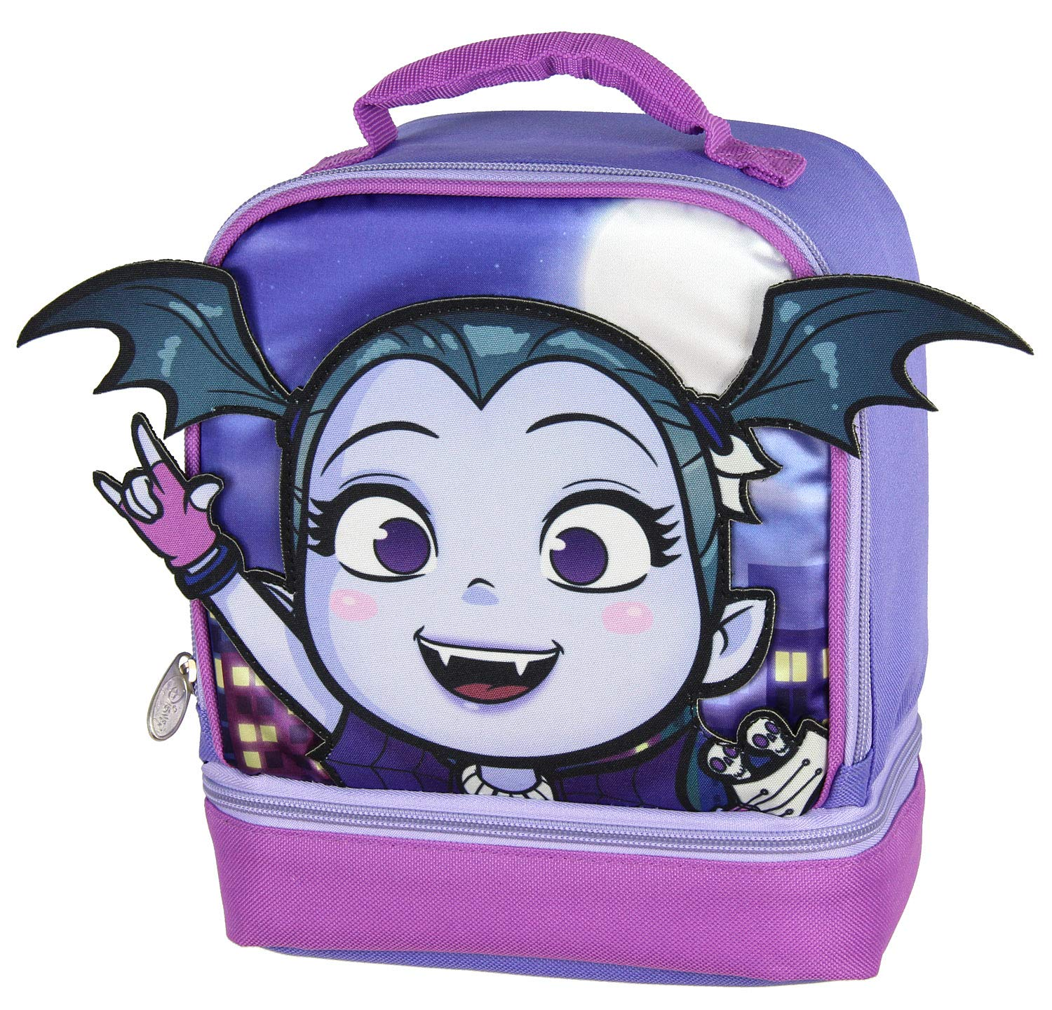DC Comics Flash Lunch Box Soft Kit Insulated Cooler Circle Bag Accessory Innovations