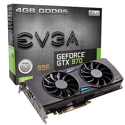 EVGA 04G-P4-3975-KR - Tarjeta gráfica (GeForce GTX 970, 4 GB, GDDR5, 256 bit, 4096 x 2160 Pixeles, PCI Express x16 3.0)
