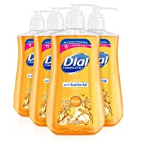 Deals on 4-Pack Dial Antibacterial liquid hand soap, gold, 11 ounce 4 Count