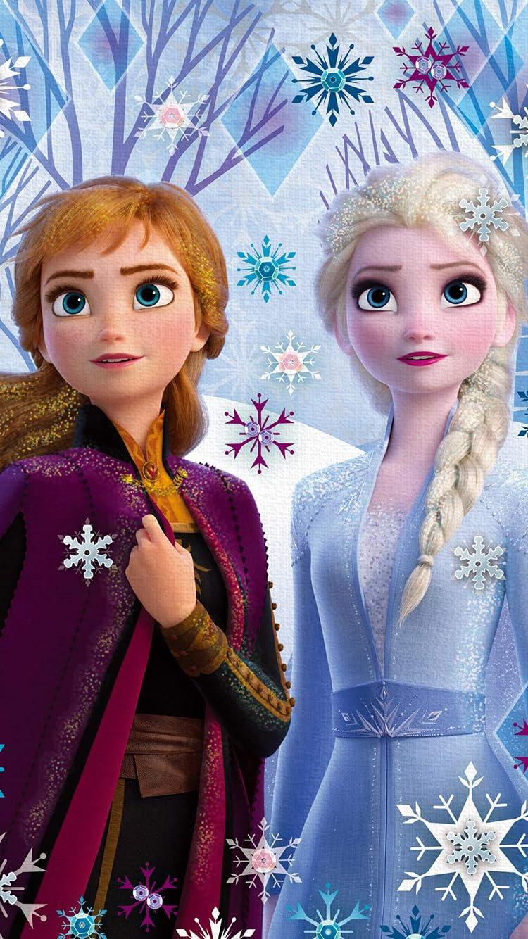 ディズニー Iphone Se 8 7 6s 750 1334 壁紙 アナと雪の女王2 アナ エルサ アニメ スマホ用画像