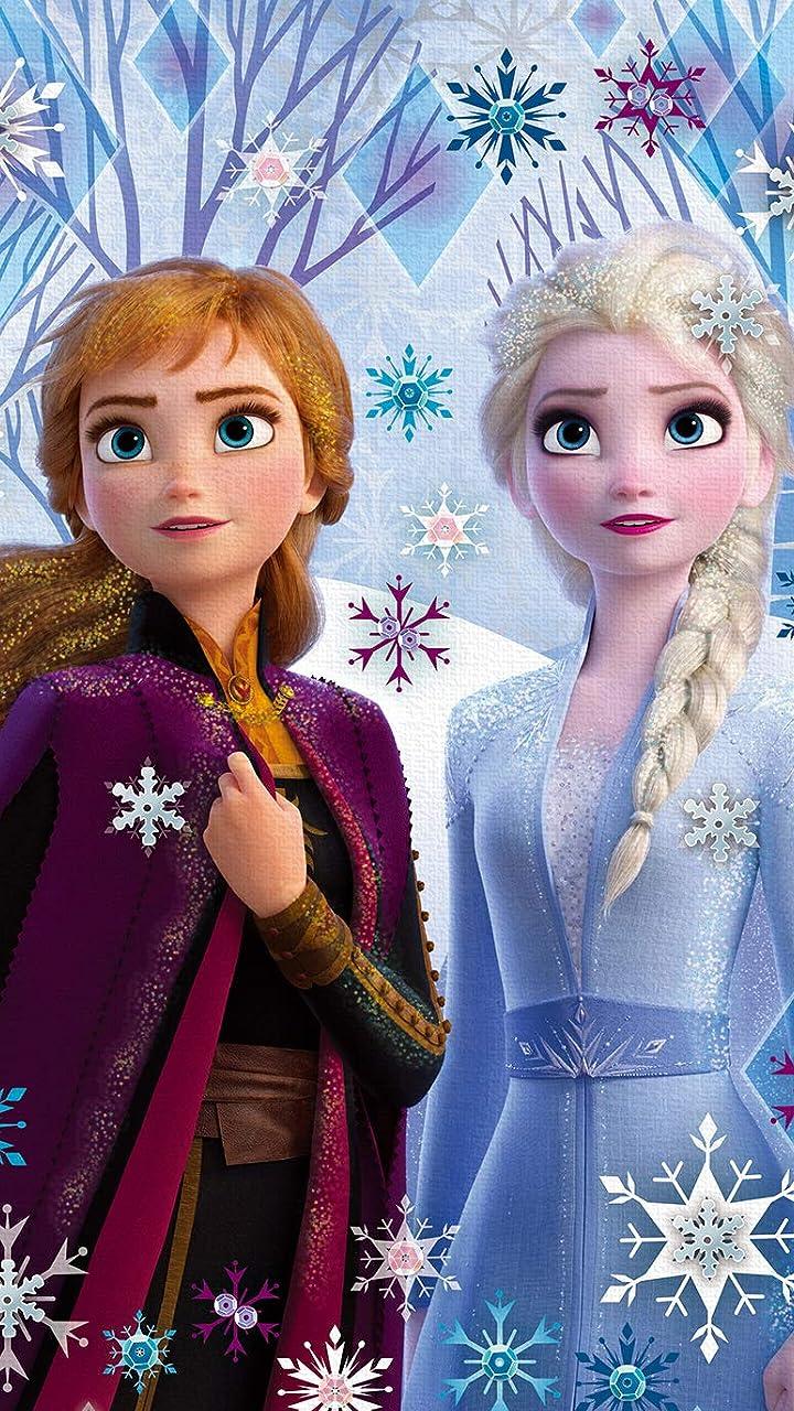 ディズニー Hd 720 1280 壁紙 アナと雪の女王2 アナ エルサ アニメ