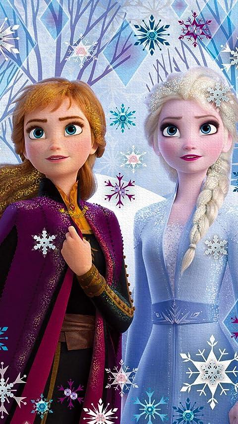 ディズニー アナと雪の女王2 (アナ,エルサ) XFVGA(480×854)壁紙画像