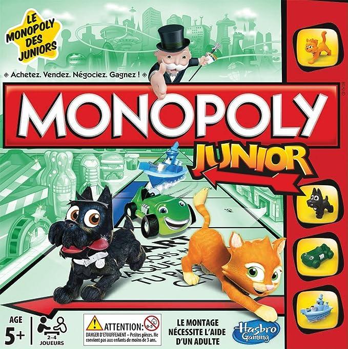 Hasbro Gaming - Monopoly Junior, Juego de Mesa (versión en francés): Amazon.es: Juguetes y juegos
