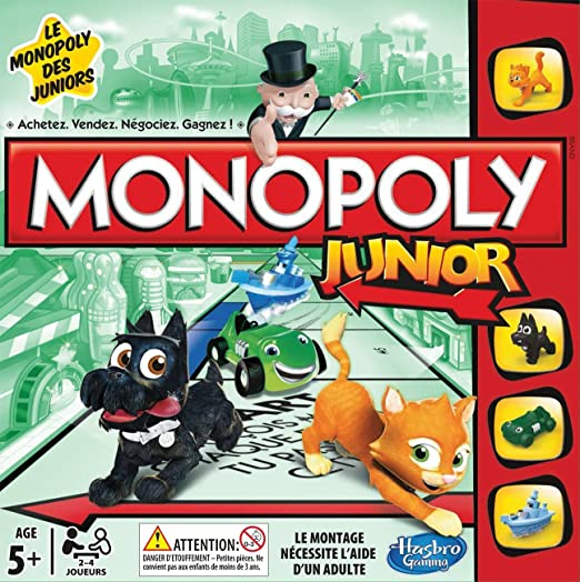 341 opinioni per Hasbro- Monopoly Junior Refresh [Versione in Francese]
