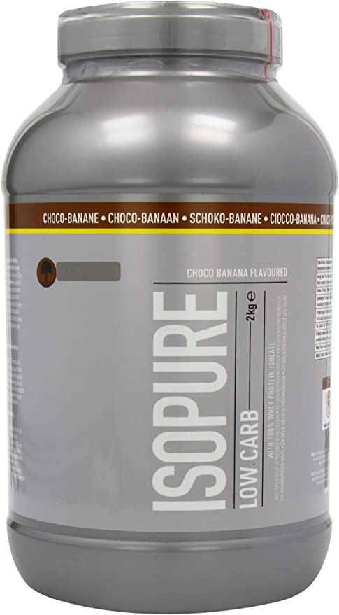 Isopure Whey Bajo Carbohidratos y Bajo Azúcar, Chocolate/Banana - 1000 g