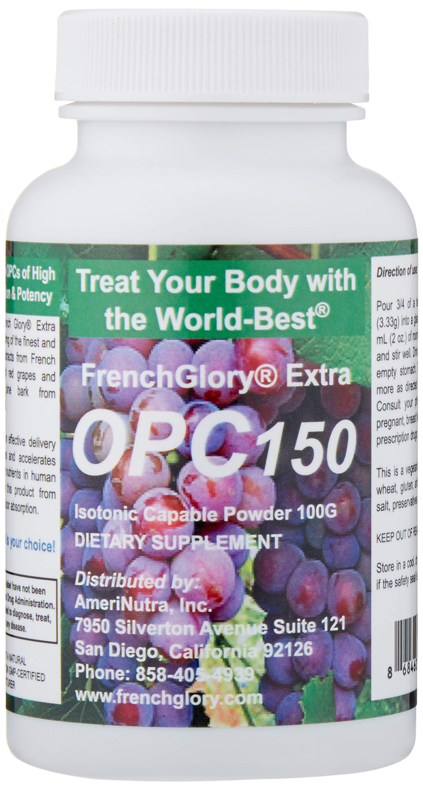 OPC150 30 Servings, More OPC Than Market America's OPC-3 Per Serving by FrenchGlory