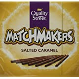 Nestlé Quality Street Salted Caramel Matchmakers Chocolates, 120g (Pack of 10)