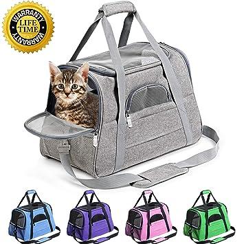 Amazon.com: Prodigen Transportador de mascotas aprobado por ...