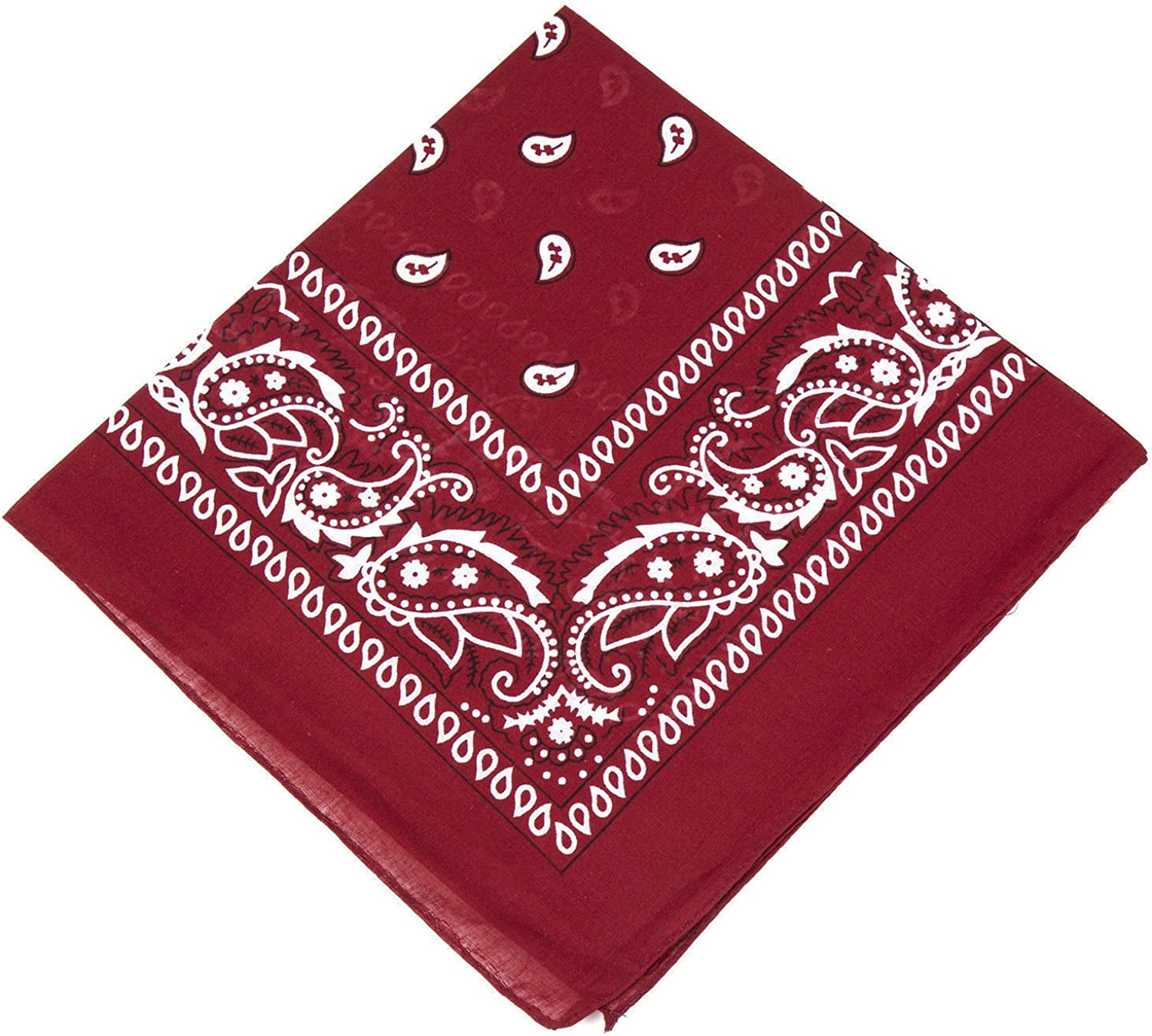 UK SELLER Mens//Womens Bandana Head Scarf Neck Scarves Paisley 100/% COTTON