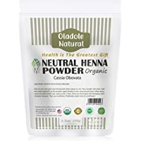 Oladole Natural Neutral Henna Powder, Cassia obovata, Colorless Henna, Natural & Organic Hair Conditioner, For Soft…