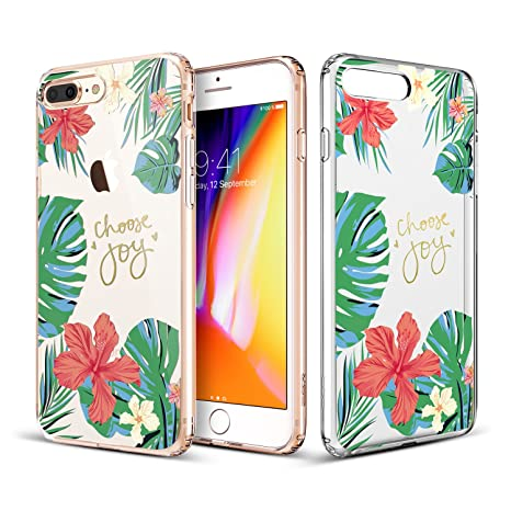 coque feuille iphone 8