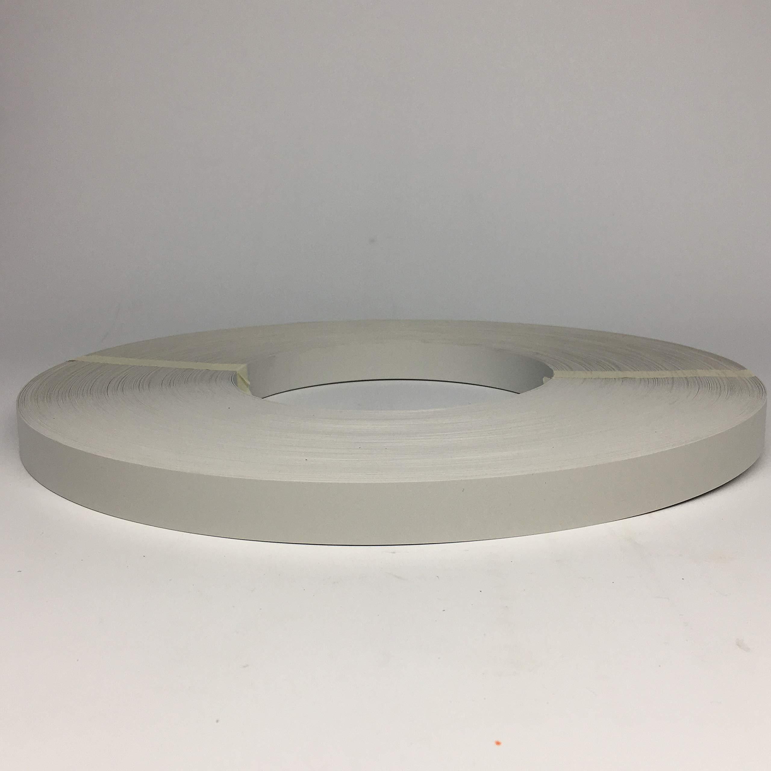 PVC Non GLUED Automatic EDGEBANDING, 15/16'' x 600 LF/Roll, (.018'' Thick) (Folkstone) by Canplast