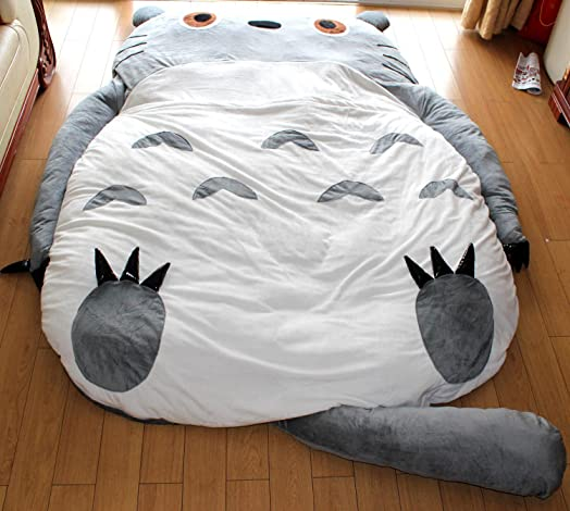 23x17M Design Double Bed And Totoro Sleeping Bag