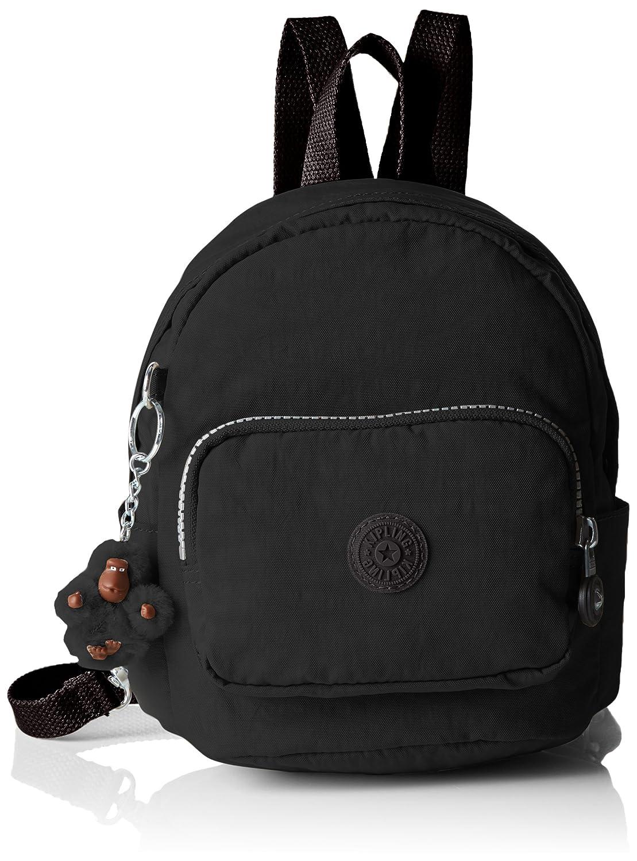 Kipling Mini Backpack, Sacs Portés Épaule Mujer, 19x21.5x17 cm (W x H x L) Sac à Dos Femme Noir (Black) 19x21.5x17cm (LxHxL) K12673