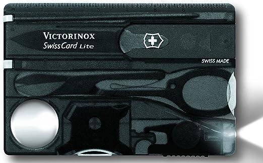 12 opinioni per Victorinox- SwissCard Lite Onyx con Led