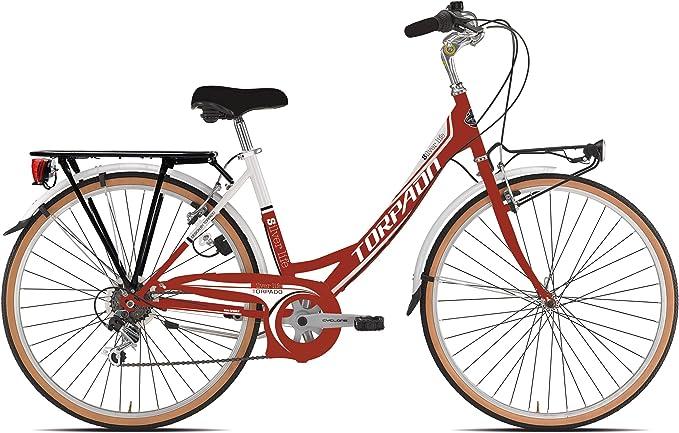 torpado bicicleta City Silver Life 26