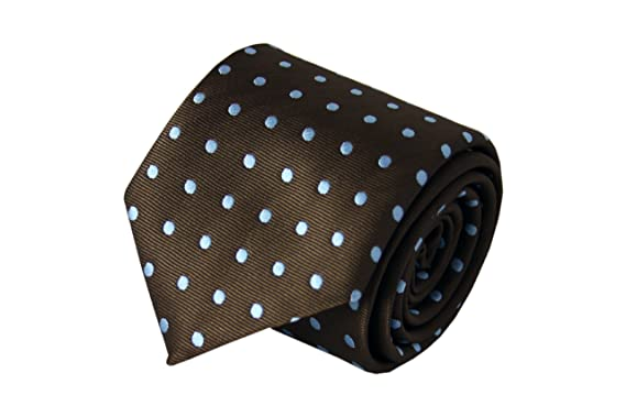 Corbata de seda marrón Unlimited christiedirectamente de celulosa ...
