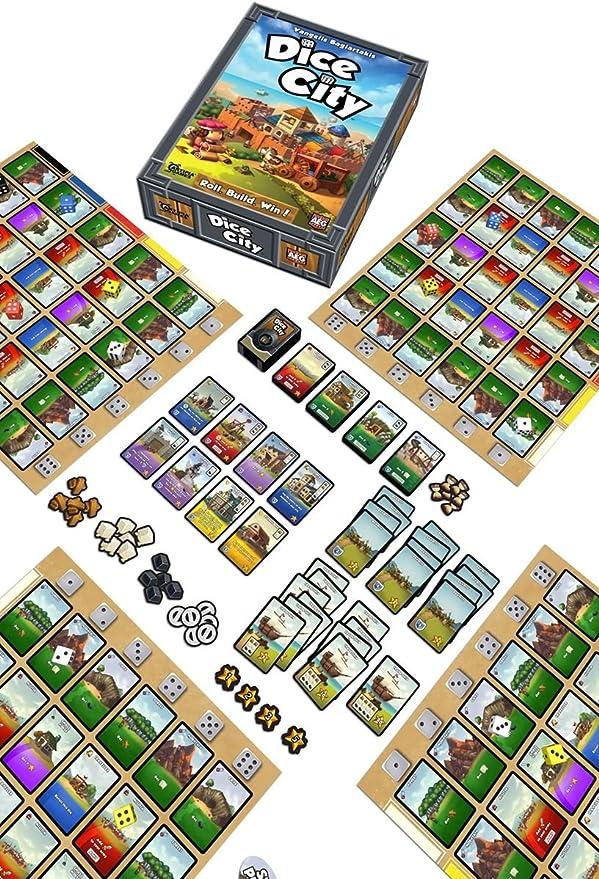 Alderac Entertainment Group Inc. Dice City: Amazon.es: Juguetes y juegos