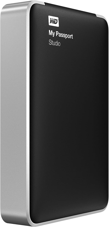 WD My Passport Studio 2TB Mac Portable External Hard Drive Storage FireWire (WDBU4M0020BBK-NESN)