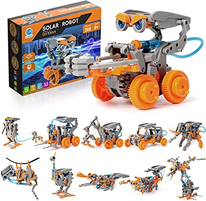 Science Building Educational Gifts for Boys 8 Years and up CIRO Solar Robot Toys STEM Toys Projects for Kids Ages 8-12 and Order