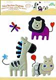 BabyToLove Stickers Muraux - Stickers Tissu - Animal Nature