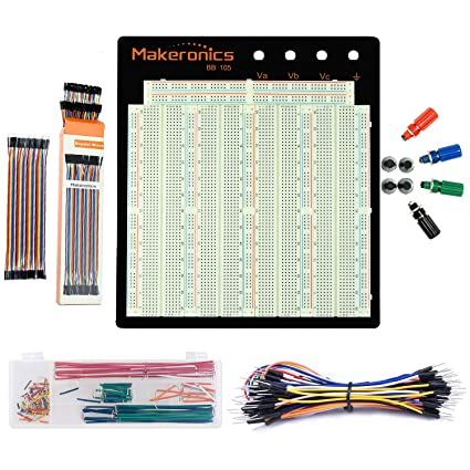Surprising Amazon Com Makeronics Solderless 3220 Breadboard Ultimate Kit Wiring 101 Orsalhahutechinfo